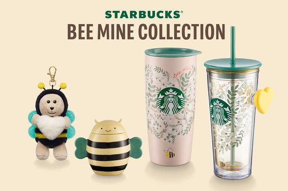 starbucks bee mine collection