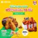 KFC Super Sales ฟรี วิงซ์แซ่บ 10 ชิ้น